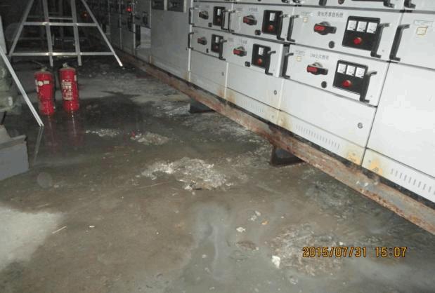 地下室穿电缆至室外如何防水?配电室进水怎么办?