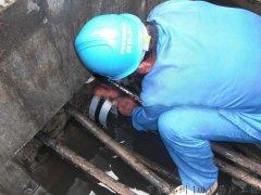 充气膨胀式电缆密封装置封堵机理