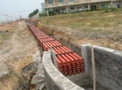 电缆管道排管、顶管的施工