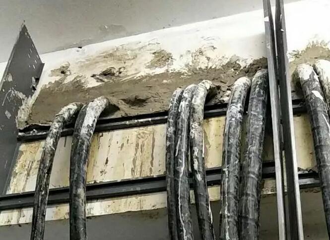 无效电缆管道封堵