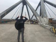 临港入海闸口桥梁项目新型拉索导管密封系统成功应用