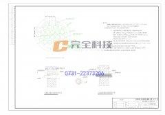 充气型电缆管道密封装置CAD图
