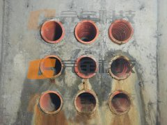 波纹电力套管怎样做管道防水密封