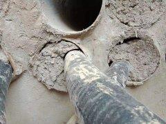 说一说水泥和堵浆处理电缆管道封堵效果